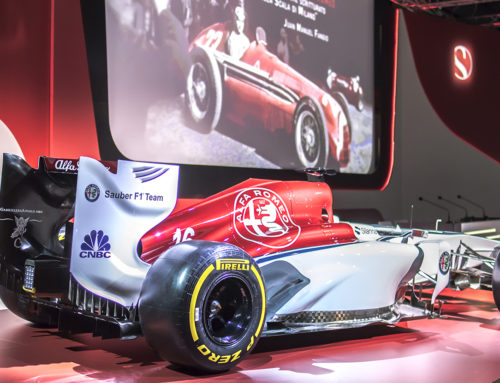 Alfa Romeo returns to F1 – walk in video